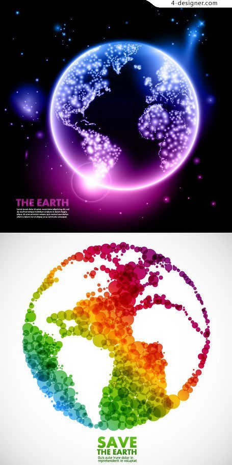 Walk the Earth vector material
