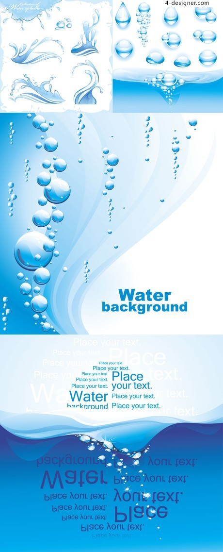 Water Elemental background material