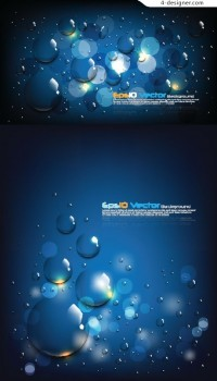 Beading effect background vector material