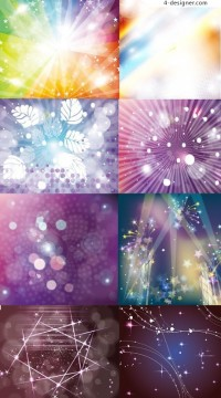 Cool beam background vector material