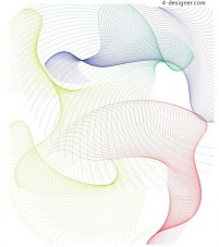 Dynamic curve vector material