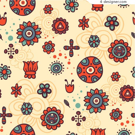Exquisite European pattern vector material