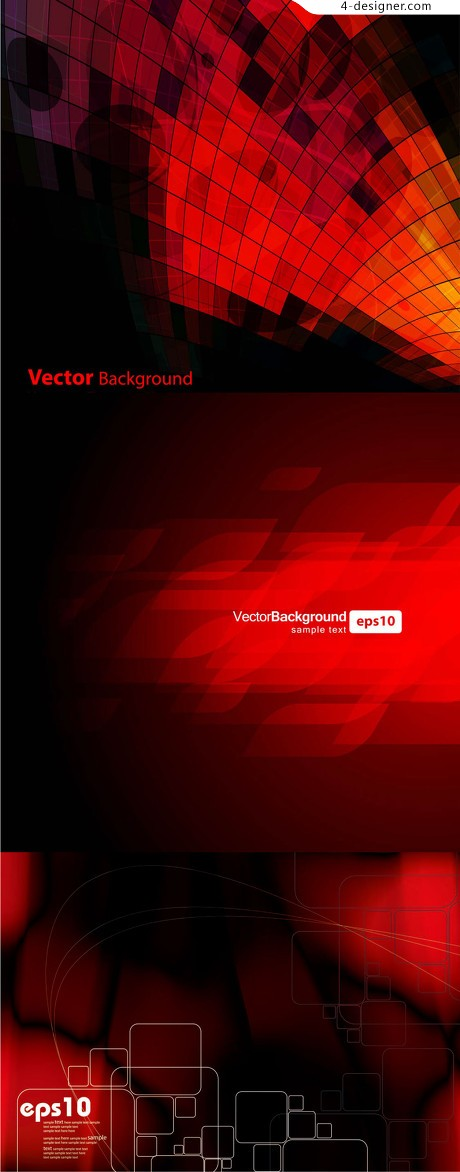 Luxury red background pattern vector material