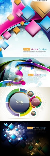 The trend of dynamic halo background vector material