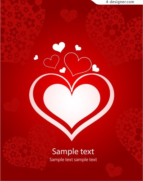 8 and love related vector material