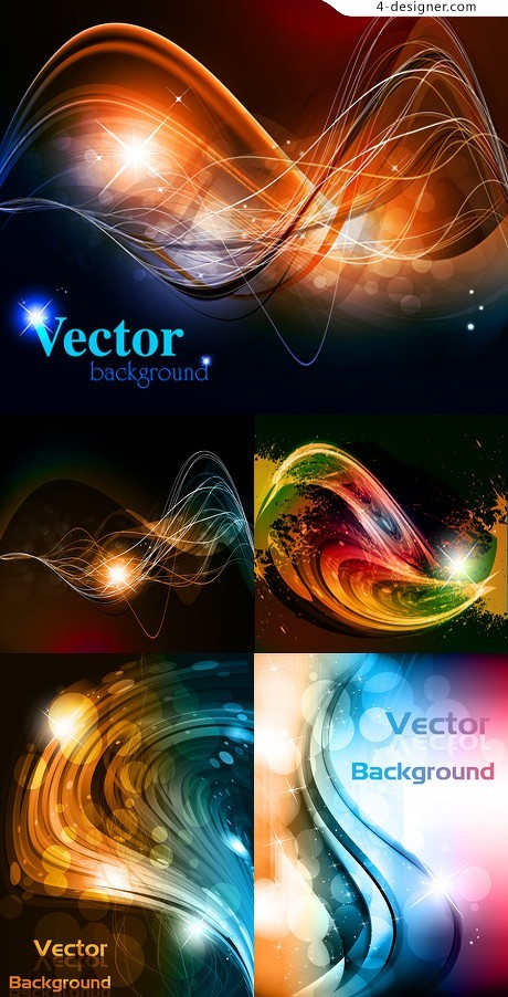 Behind the Stars background vector material