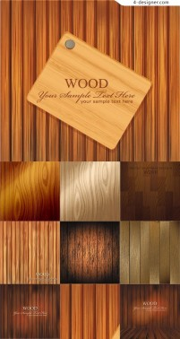 Material wood background vector material