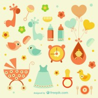 Baby vector material