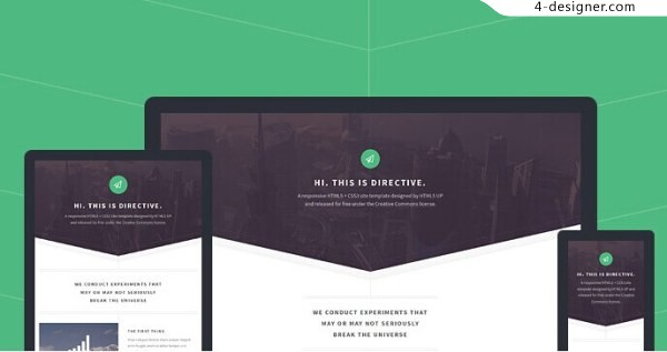 Design Material Share A Foreign Delicate Html5 Response Template 2