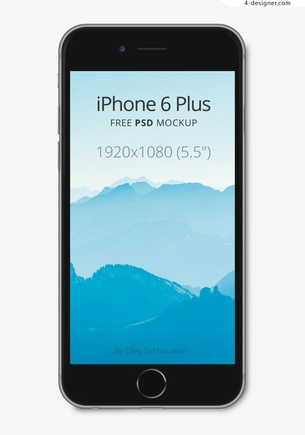 IPhone 6 plus templates and wireframes