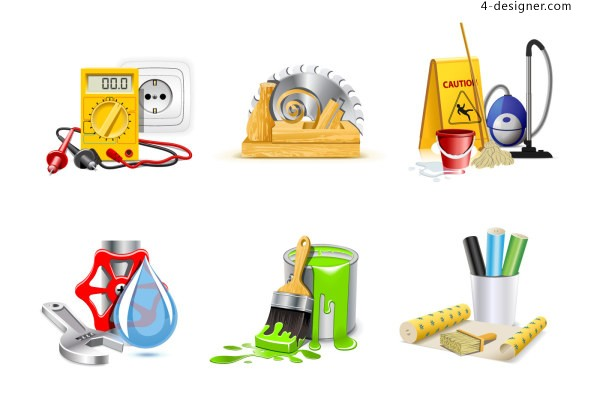 Tools supplies icon