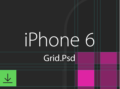 IPhone6 grid