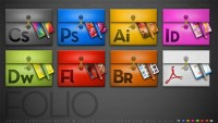 Adobe creative folder icon material