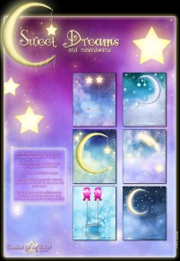 Fantasy starry background and icon material 02