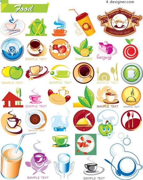 Food icon vector icon material