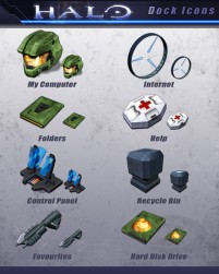 HALO game footage arms Icons