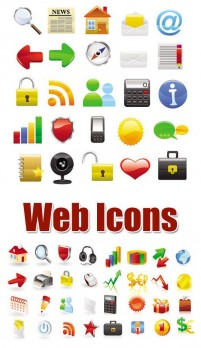Practical network icon vector material
