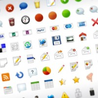 Practical web design icon commonly used material