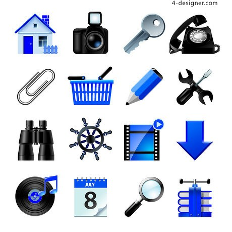 Stereo cameras and other material icon