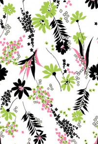Exquisite pattern background psd material