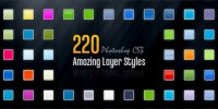 PS Layer Styles section 220 material