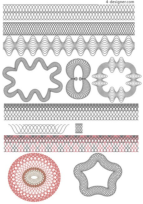 Twisted wire brushes psd material overlay pattern