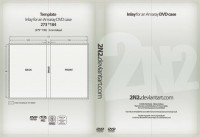 White DVD packaging psd material