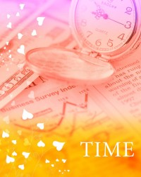 Concept of time stunning background psd material