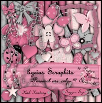 Cute Pink Jewelry png material