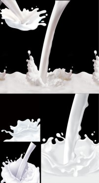 Milk spilled dynamic moment PSD HQ Pictures 10