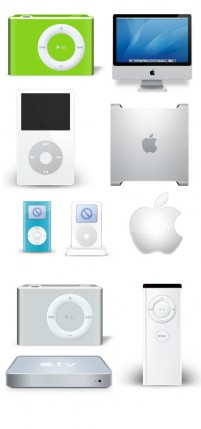 PNG material variety of Apple products