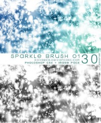 Sparkling spots png material