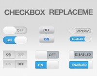 UI interface check box template psd material