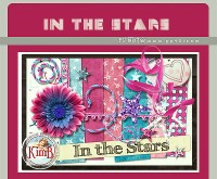Stars a cute collage PNG