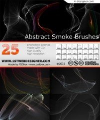 25 PS brushes material shall smoke effects