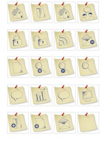 Notes series icons