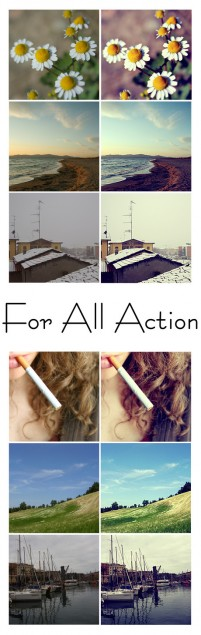 Photoshop action set
