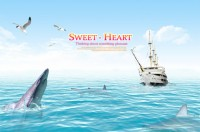 Protection of marine biological welfare posters PSD material