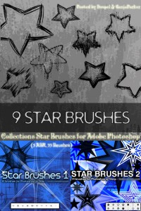 Ps brush stars