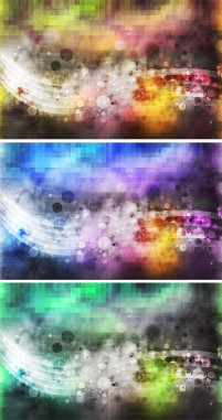 Gorgeous color mosaic underlay PSD material