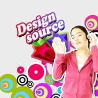 Fashion music posters PSD material