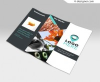 Promotional material templates psd material