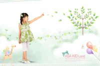 Tong painting poster PSD material