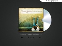 Cover and CD player PSD material