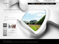 Creative Graphic Web Design PSD material
