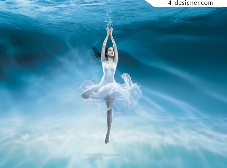 Dancing beauty seabed