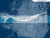 Splashes brush material