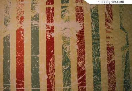 Distressed vintage stripe pattern