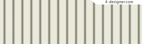 Simple and elegant thick stripes material