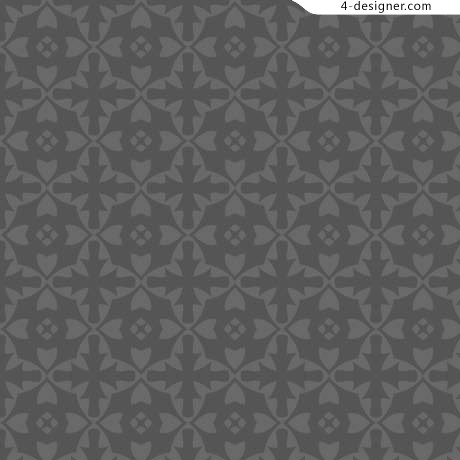 Classic floral pattern background